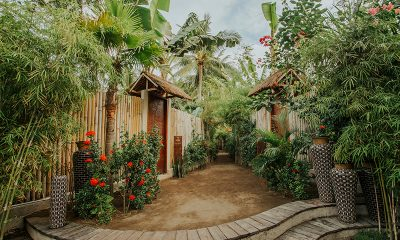 Majo Private Villas Entrance   Gili Trawangan, Lombok