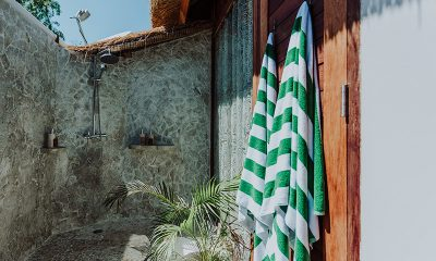 Majo Private Villas Bathroom Shower   Gili Trawangan, Lombok