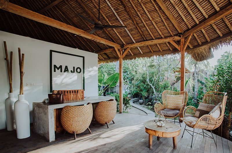 Majo Private Villas Seating | Gili Trawangan, Lombok