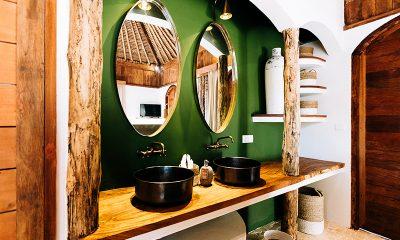 Majo Private Villas Bathroom Area   Gili Trawangan, Lombok