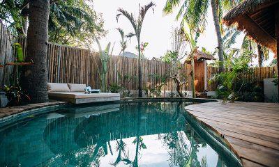 Majo Private Villas Pool   Gili Trawangan, Lombok