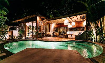 Majo Private Villas Pool Area   Gili Trawangan, Lombok