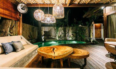 Majo Private Villas Seating Area   Gili Trawangan, Lombok