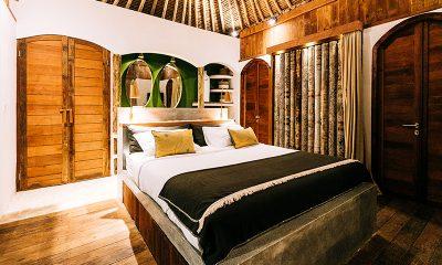 Majo Private Villas Bedroom Area   Gili Trawangan, Lombok