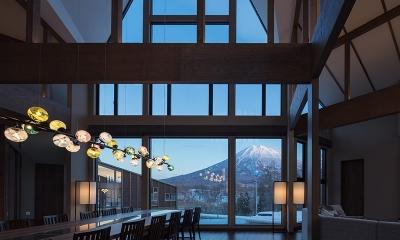 Panorama Niseko Dining Area with Mt. Yotei Views | Hirafu, Niseko