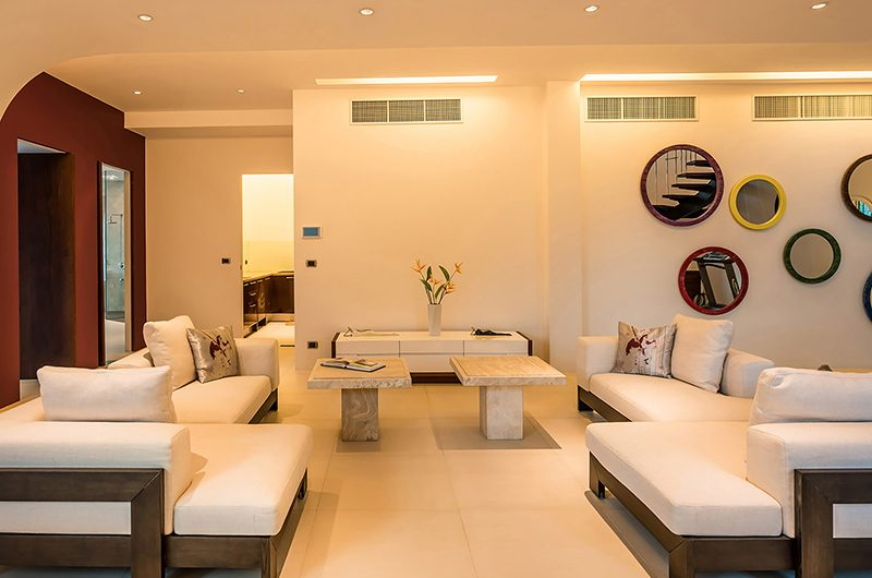 Villa Nautilus Living Room | Ao Po, Phuket