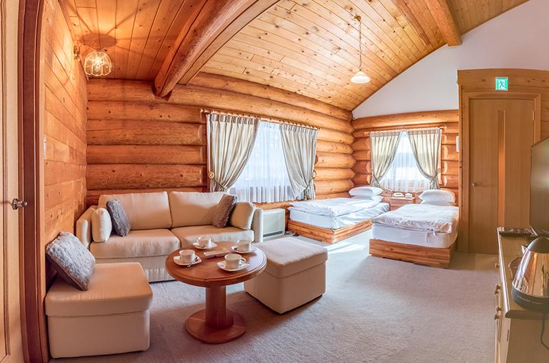 Villa Rusutsu Twin Bedroom | Rusutsu, Japan