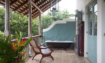 Sisindu Tea Estate Outdoor Bathtub | Galle, Sri Lanka