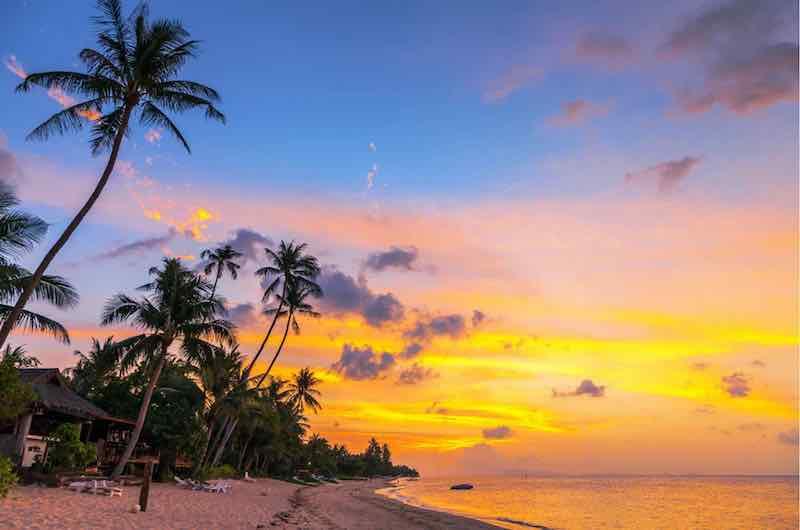 Thailand Koh Samui Bang Por Beach