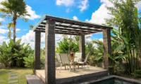 Villa Cendrawasih Ubud Outdoor Seating | Ubud, Bali