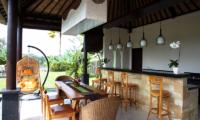 Villa Cendrawasih Ubud Villa Kasuari 1 Dining Area | Ubud, Bali