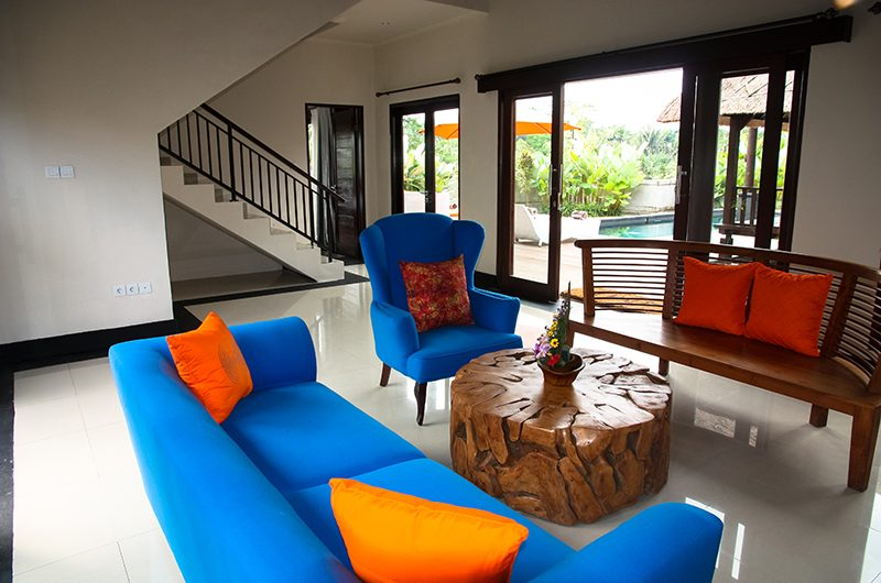 Villa Cendrawasih Ubud Villa Kasuari 1 Living Room | Ubud, Bali