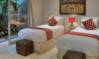 Villa Damai Aramanis Twin Bedroom | Seminyak, Bali
