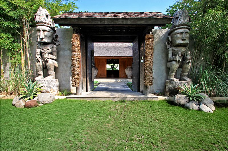 Villa Kalua Entrance | Umalas, Bali