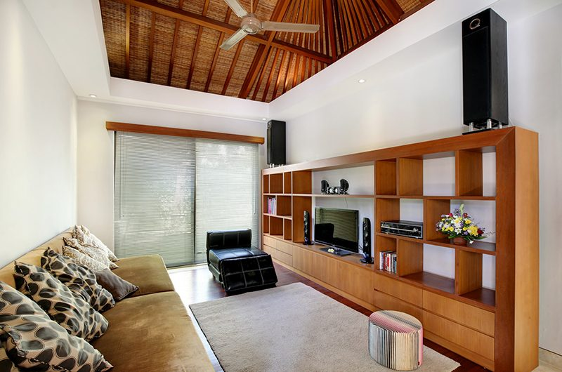 Villa Karang Saujana 1 Media Area | Ungasan, Bali