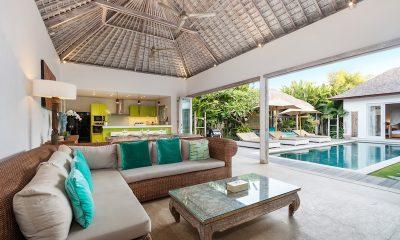 Villa Paraiba Open Plan Living Room | Seminyak, Bali