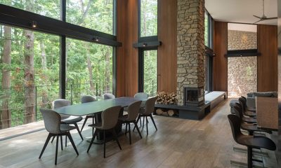 Villa El Cielo Living and Dining Area | Hakuba, Nagano