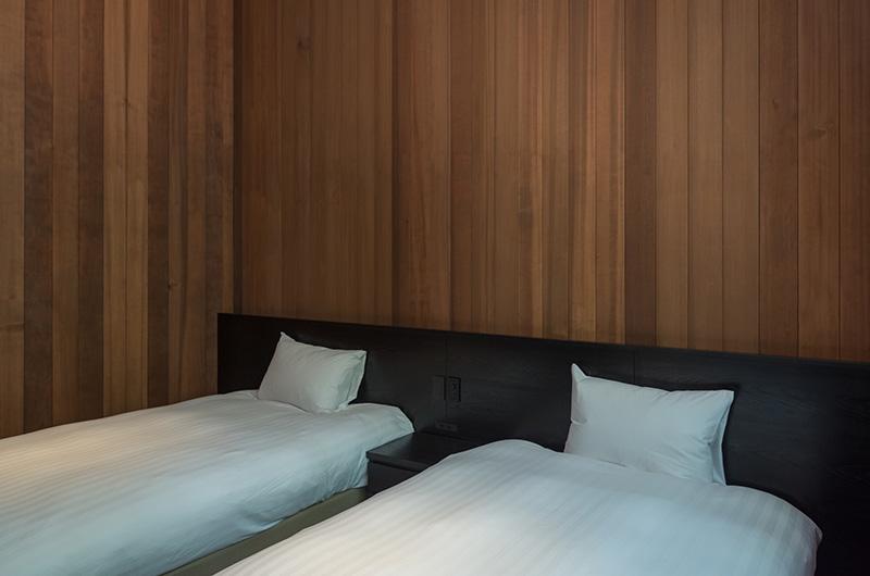 Villa El Cielo Twin Bedrooms | Hakuba, Nagano