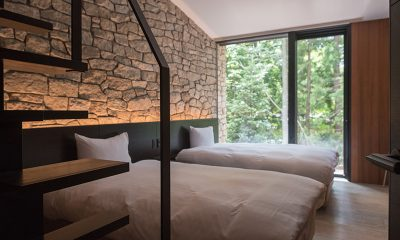 Villa El Cielo Twin Bedroom Side   Hakuba, Nagano