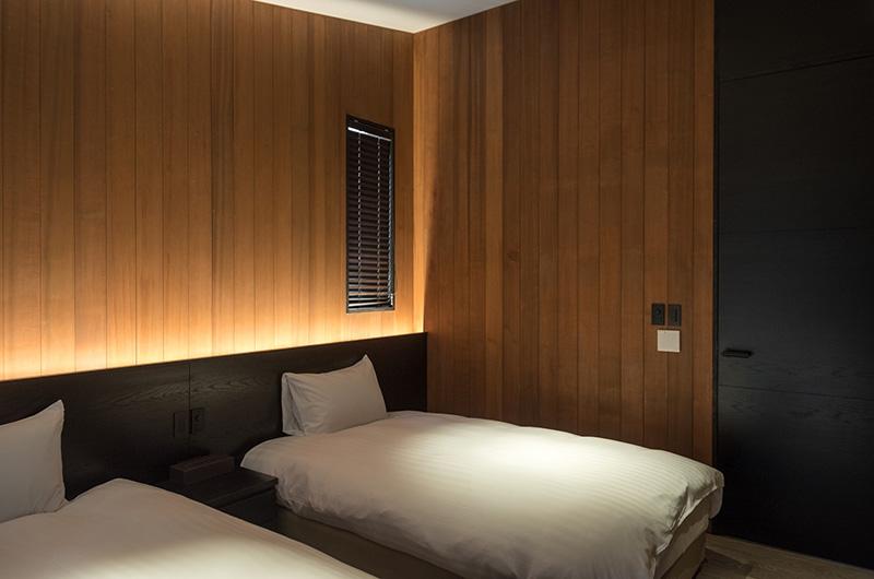 Villa El Cielo Twin Bedroom | Hakuba, Nagano