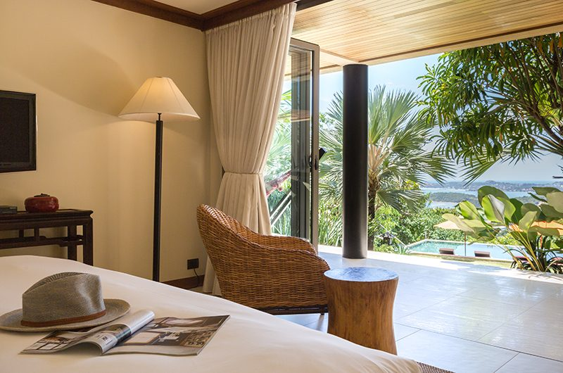 Atulya Residence Bedroom with Pool View | Bophut, Koh Samui