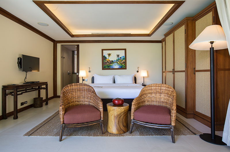 Atulya Residence Bedroom with Seating | Bophut, Koh Samui