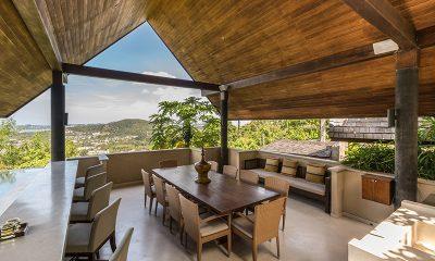 Avasara Residence Outside Dining Area | Bophut, Koh Samui