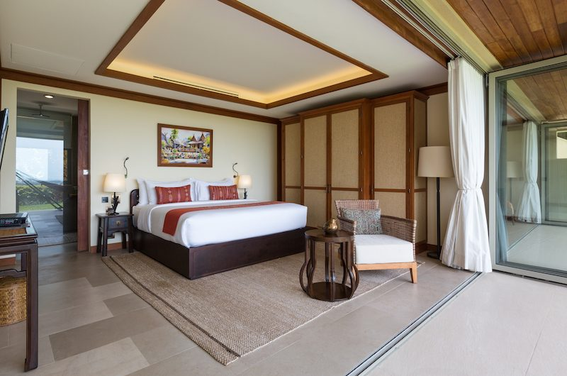 Kalya Residence Bedroom Area with Seating | Bophut, Koh Samui