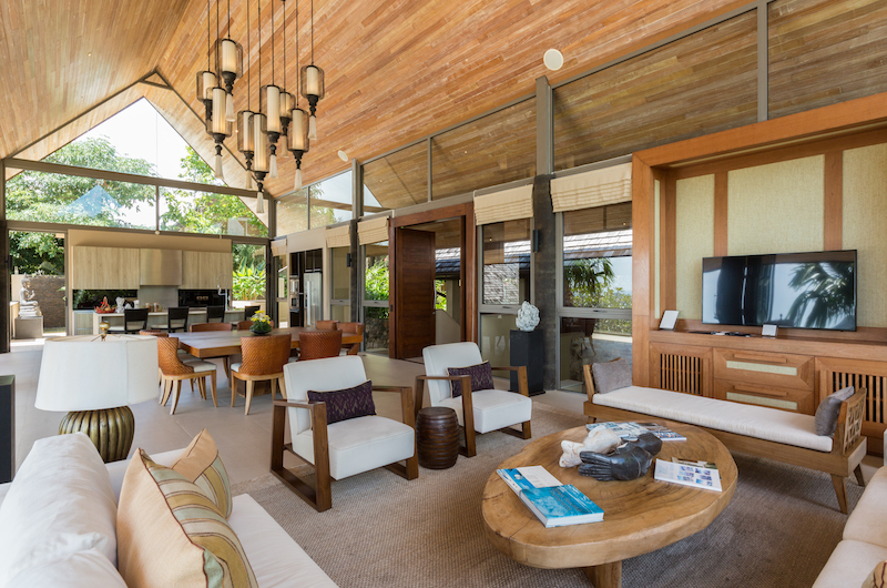 Purana Residence Living and Dining Area | Bophut, Koh Samui