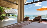 Purana Residence Bedroom with Pool View | Bophut, Koh Samui