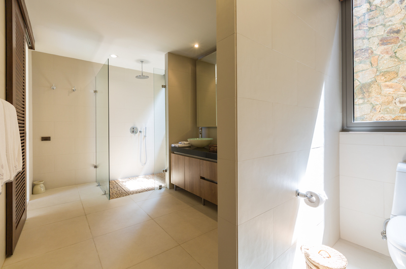 Purana Residence Bathroom with Shower | Bophut, Koh Samui