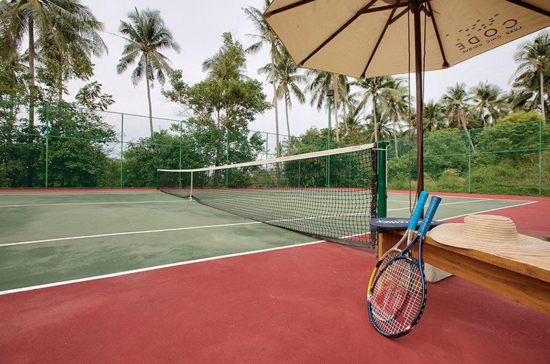 Villa Asia Tennis Court   Bang Por, Koh Samui