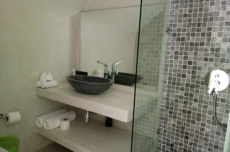 Villa Asia Bathroom Area | Bang Por, Koh Samui