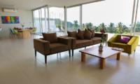 Villa Asia Living Area | Bang Por, Koh Samui