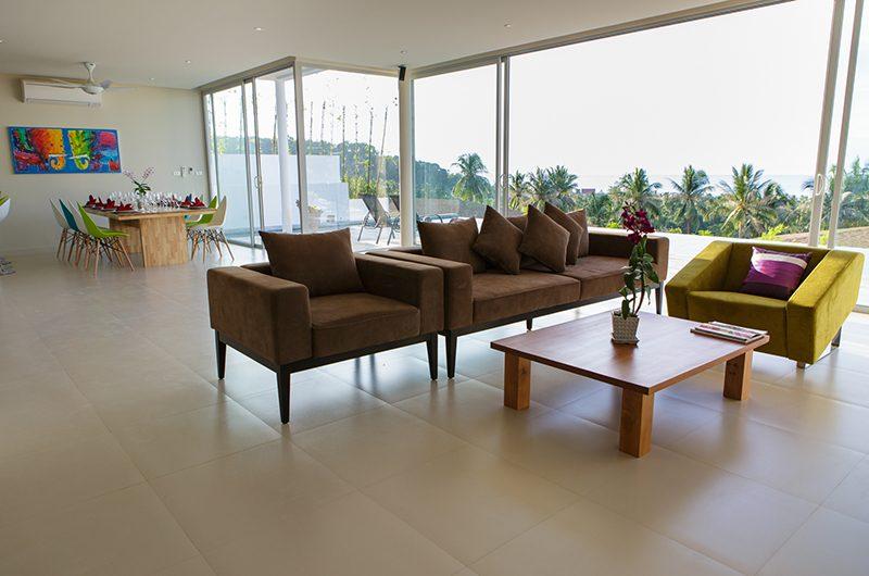Villa Asia Living Area   Bang Por, Koh Samui