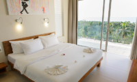Villa Asia Bedroom with Balcony   Bang Por, Koh Samui