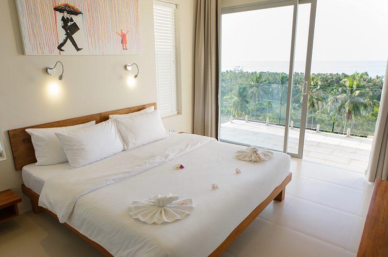 Villa Asia Bedroom with Balcony | Bang Por, Koh Samui