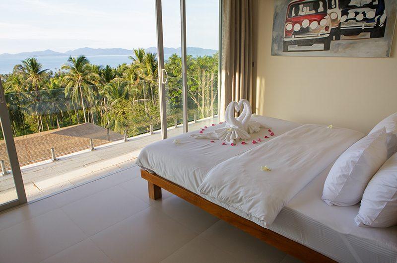 Villa Asia Bedroom Area   Bang Por, Koh Samui