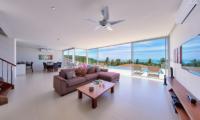Villa Daisy Open Plan Living Area | Bang Por, Koh Samui