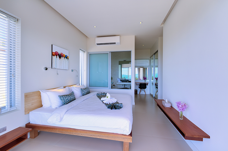 Villa Daisy Bedroom Area | Bang Por, Koh Samui