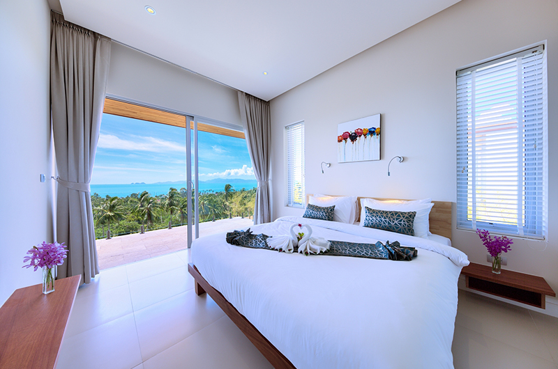 Villa Daisy Bedroom Side | Bang Por, Koh Samui