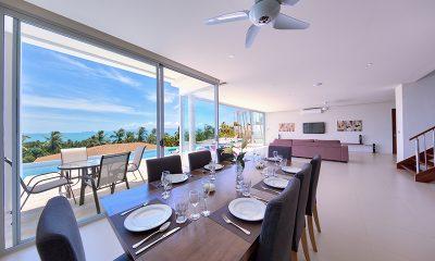 Villa Daisy Dining Area | Bang Por, Koh Samui