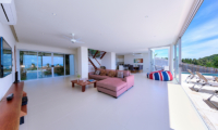 Villa Daisy Living and Dining Area | Bang Por, Koh Samui