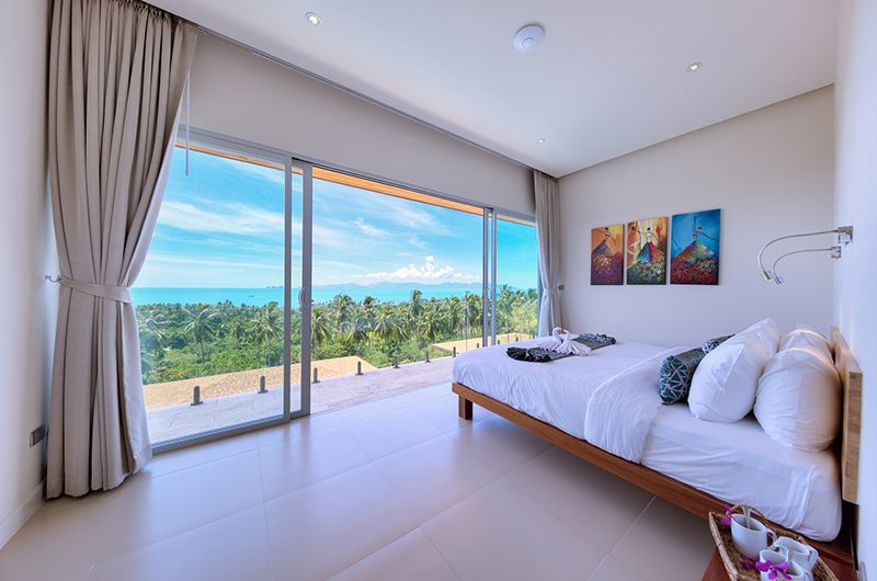 Villa Daisy Bedroom with Balcony | Bang Por, Koh Samui