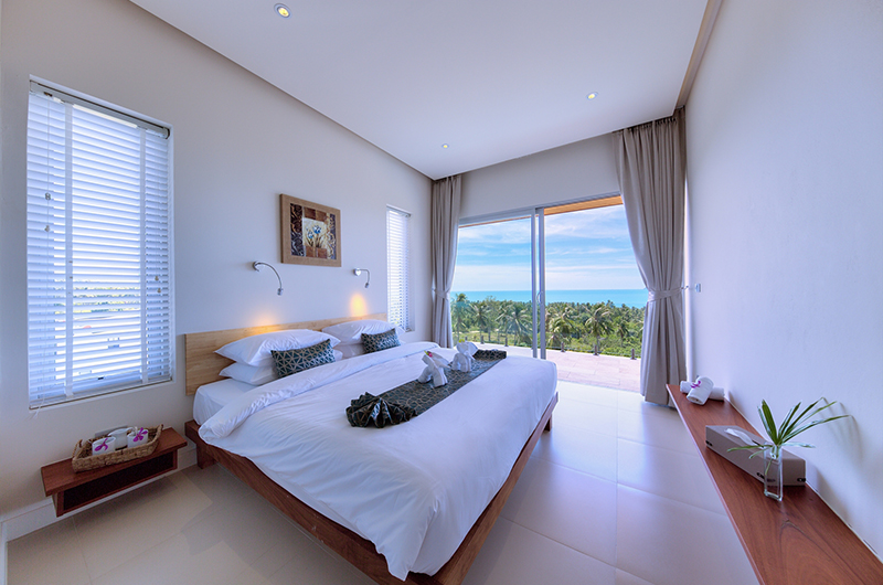 Villa Daisy Bedroom | Bang Por, Koh Samui