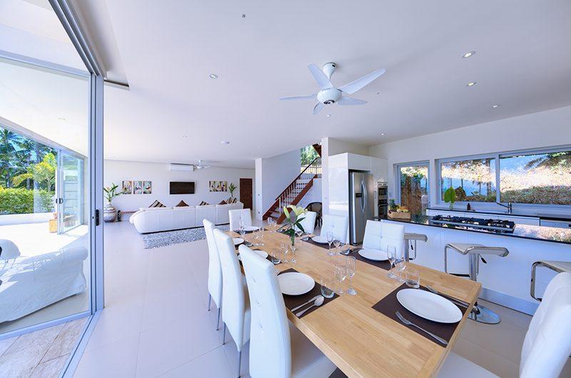 Villa Zoe Dining Area   Bang Por, Koh Samui