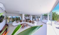 Villa Zoe Living And Dining Area   Bang Por, Koh Samui