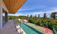 Villa Zoe Balcony   Bang Por, Koh Samui