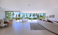Villa Zoe Open Plan Living Area | Bang Por, Koh Samui