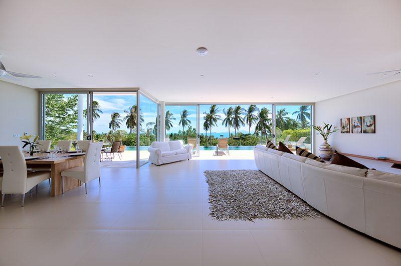 Villa Zoe Open Plan Living Area   Bang Por, Koh Samui